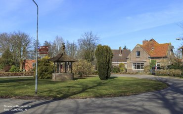 Heden 2015 - Rudolphlaan, het 'Centrum' van het dorp De Glind.