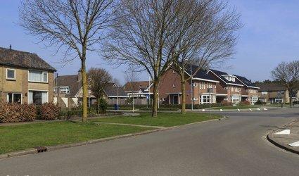 Heden 2015 - Hoek Jan de Jagerweg / Van Effrinkstraat. -Voorthuizen